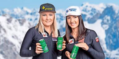 Ski-Star wirbt für Hanf