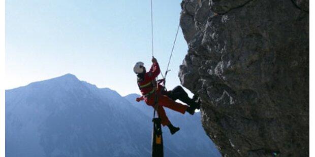 Vier Bergsteiger tödlich gestürzt