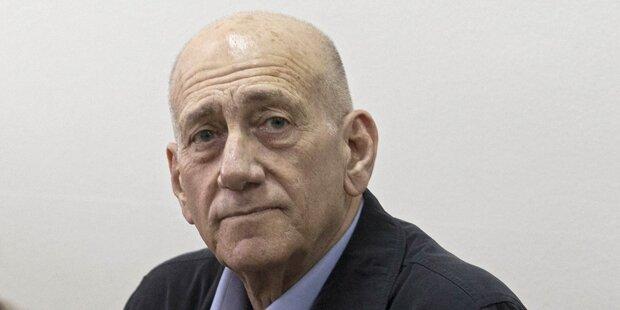 Schuldspruch gegen Israels Ex-Regierungschef Olmert