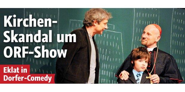 Riesiger Kirchen-Skandal um ORF-Show