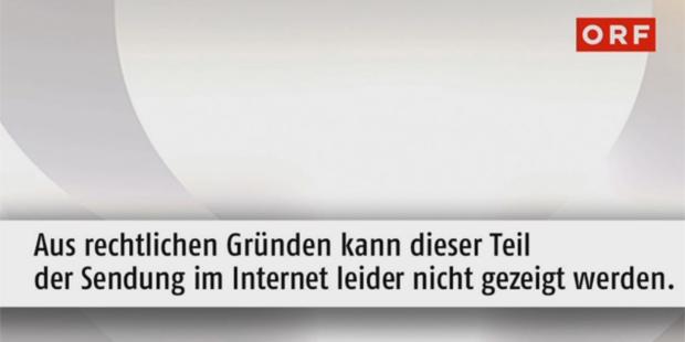 ORF TVthek Screenshot