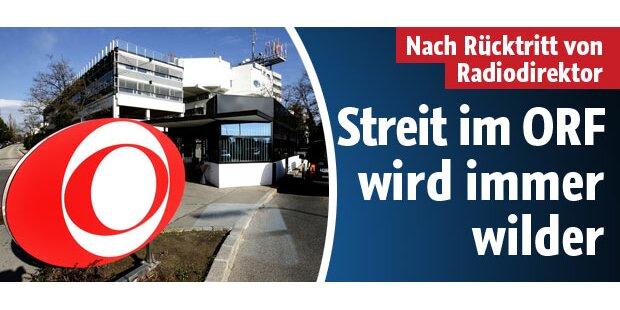 Streit im ORF wird immer wilder