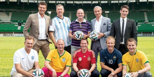 Wie gut sind die WM-Stars des ORF?