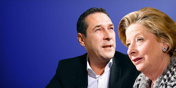 Nach Stenzel-Skandal-Rede: So reagiert Strache