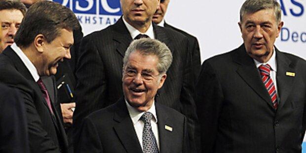 OSZE-Gipfel endet ohne Ergebnis