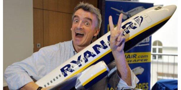 Ryanair erwägt Toilettengebühr an Bord