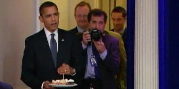 Barak Obama feiert seinen 50. Geburtstag