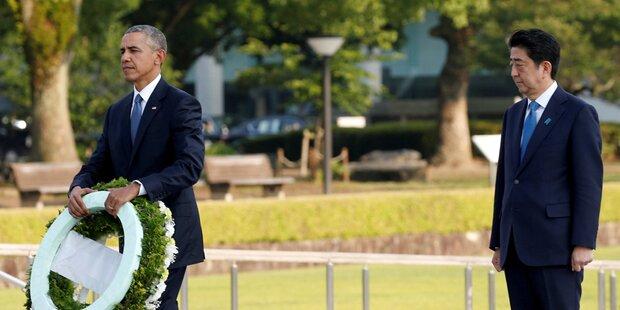 Abe und Obama gedenken der Pearl-Harbor-Opfer