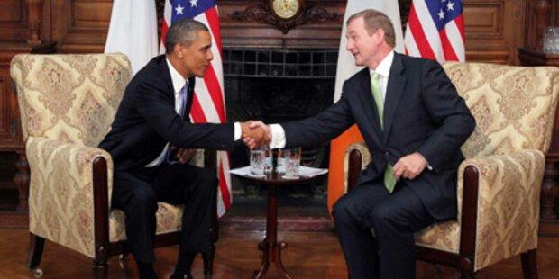 Barack Obama lobt Friedensprozess