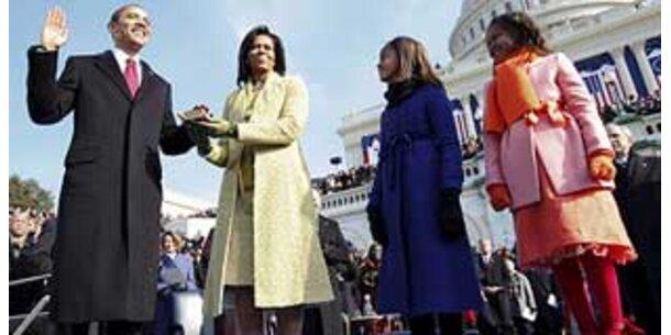 Eine Million sah Obamas Angelobung im ORF