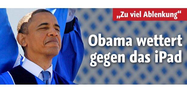 Obama attackiert iPad, PS3, Xbox und Co.