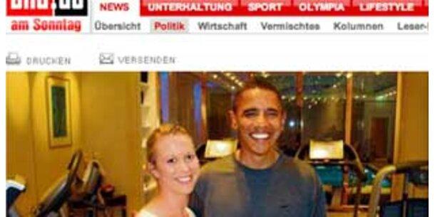 Obama in Berlin reingelegt