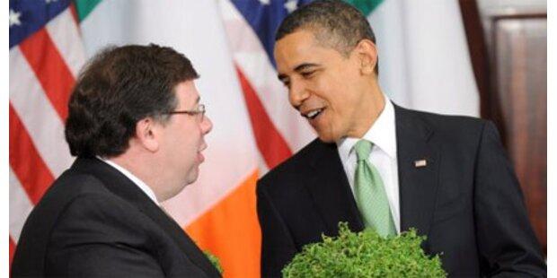 Irischer Regierungschef hält Obamas Rede