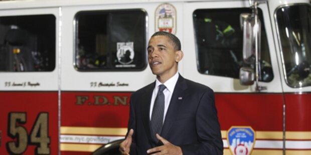 Barack Obama gedachte der 9/11-Opfer