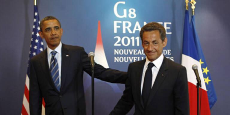 Obama und Sarkozy: Gaddafi muss weg