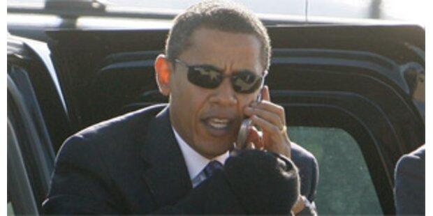 Obama erleichtert-Darf seinen BlackBerry behalten