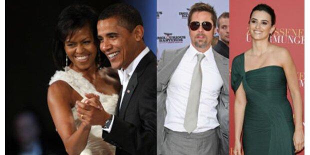 Obamas gehören zu den Best Dressed 2009