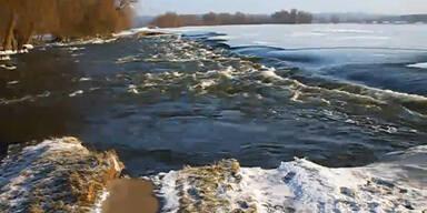 Nach Kältewelle nun Hochwassergefahr