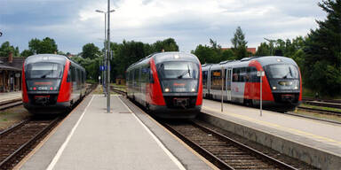 ÖBB Dieseltriebwagen Triebwagen 5022 Desiro