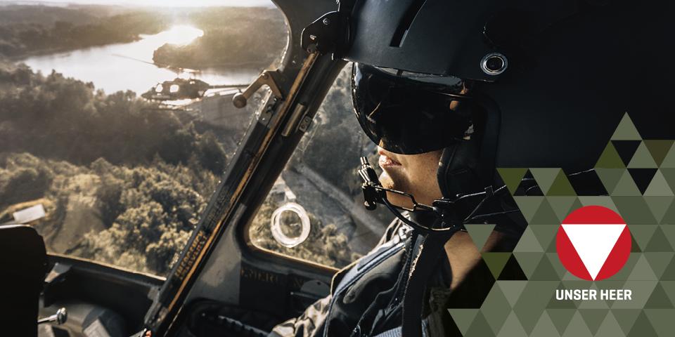 BMLV - Channel - Herbst 2018 - Luftraumüberwachung - Bild 2 mit Logo