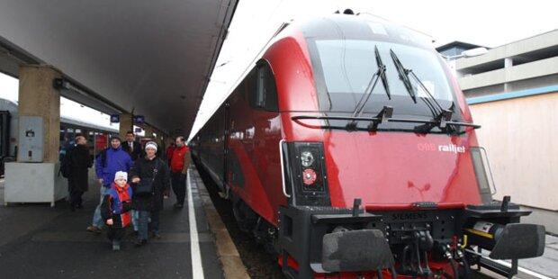 Betrunkener in Vorarlberg von Zug erfasst