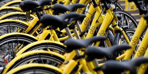 Bike-Sharing-Anbieter Ofo stockt Flotte in Wien deutlich auf