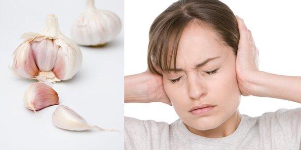 Knoblauch Bei Ohrenschmerzen