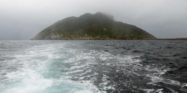 Das Betreten dieser Insel ist strengstens verboten