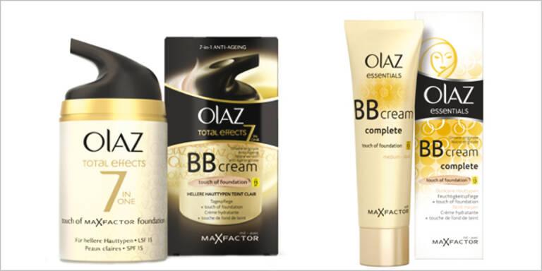 Ebenmäßiger Teint mit den BB Creams von Olaz