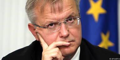 """Olli Rehn: """"Gemeinsamer Beitritt sinnvoll"""""""