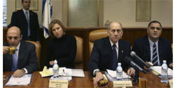 Israelis erhöhen Druck auf Palästinenser