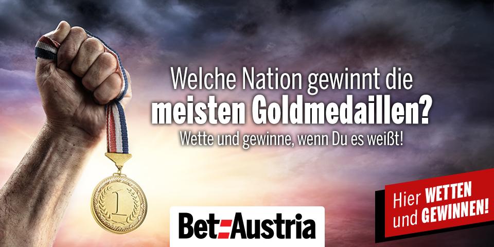 Olympische Spiele - Welche Nation gewinnt die meisten Goldmedaillen?