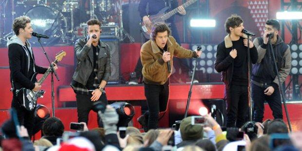 Erfolgreichster Music- Act ist One Direction