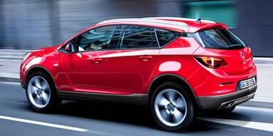 Opel baut Kompakt-SUV auf Astra-Basis