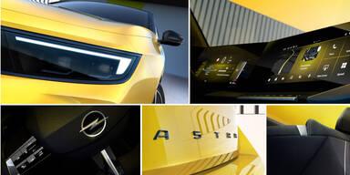 Erste Fotos und Infos zum völlig neuen Opel Astra