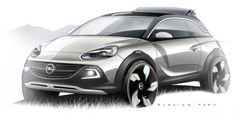 Opel zeigt den Adam Rocks Concept