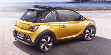 Weltpremiere des Opel Adam Rocks