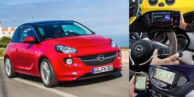 Opel Adam trumpft mit Top-Vernetzung auf