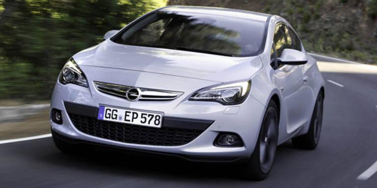 Opel Astra GTC mit neuem Turbo-Benziner