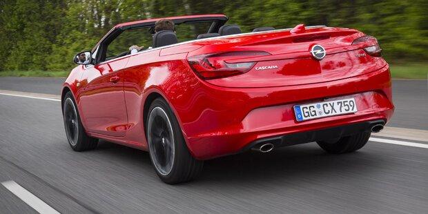 Jetzt startet der Opel Cascada Supreme