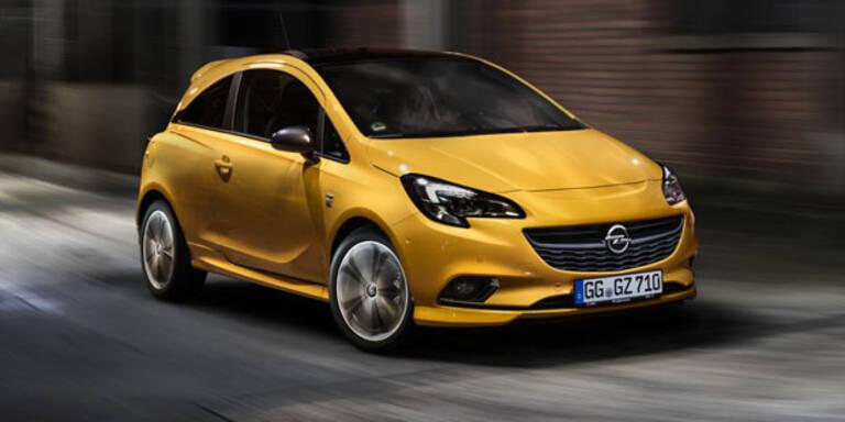 Opel frischt jetzt den Corsa auf