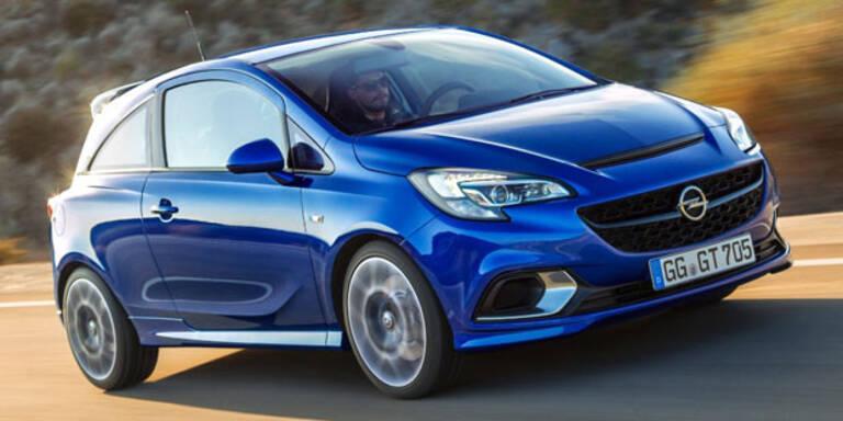 Neuer Opel Corsa OPC startet