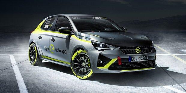 Elektro-Corsa kommt auch als Rallye-Version