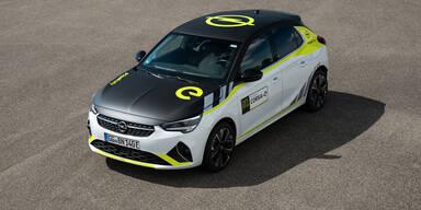 Opel Corsa-e jetzt auch im Rallye-Look