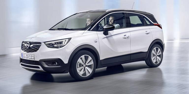 Alle Infos vom neuen Opel Crossland X