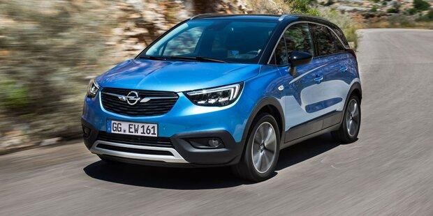 Opel Crossland X ist ein Bestseller