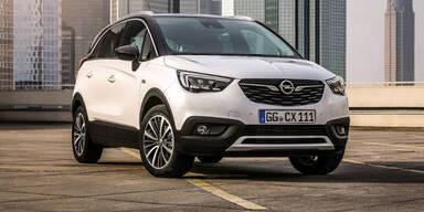 Opel Crossland X startet zum Kampfpreis