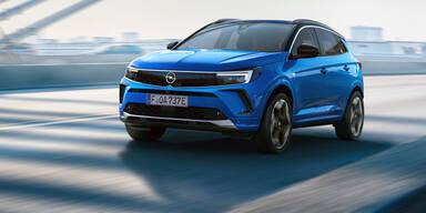 Jetzt trägt auch der Grandland das neue Opel-Gesicht