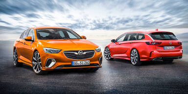 Opel lässt Insignia GSi von der Leine