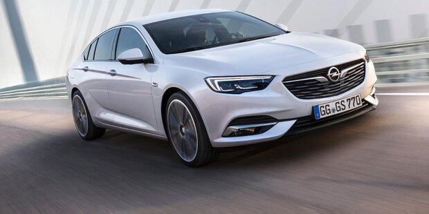 Das ist der neue Opel Insignia Grand Sport